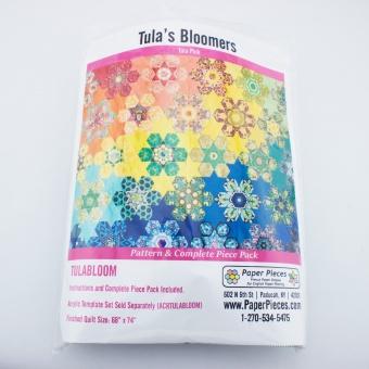 Tula Pink Tulas Bloomers Komplett-Set Papierschablonen und Anleitung