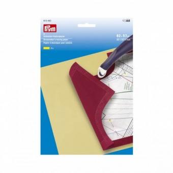 Schneider-Kopierpapier- PRYM - 2 gelbe Bögen Schnittmusterübertragungspapier