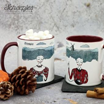 Scheepjes Limited Edition Tasse by Aleksandra Sobol - Kaffeebecher / Teetasse