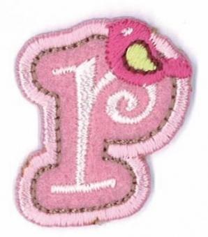 Aufbügelbare Buchstaben - Girls Just Wanna Have Fun Letters Alphabet Bügelapplikationen r