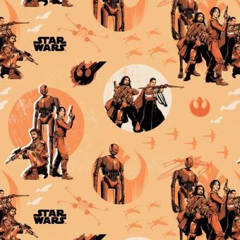 Originalstoff Star Wars Rogue One - Star Wars Rebels Motivstoff