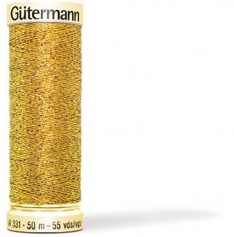 Goldgarn / Silbergarn - Metalleffektfaden W 331 - Sulky / Gütermann