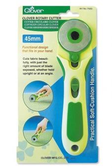 Ergonomischer Rollschneider 45mm - Clover Soft Grip