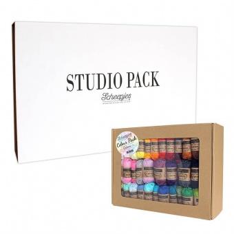 Catona Studio Pack / Colour Pack - 109 Miniknäuel + ein exklusives Scheepjes Kreativkit!