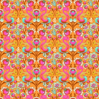 Begonia Squirrel  - All Stars by Tula Pink - Eichhörnchenstoff