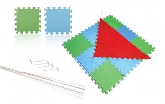 Knit Pro Spannmatten Set - 9 Strickspannmatten / Häkelspannmatten