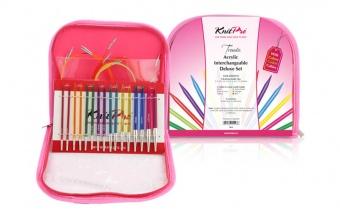 KnitPro Trendz Acryl - Deluxe Set - Auswechselbare Nadelspitzen