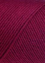 Jawoll Uni Sockenstrickgarn - 50g Knäuel - Sockenwolle von Lang Yarns # 0262 Dunkelrot