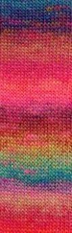 Mille Colori Socks & Lace Luxe - GROßE AUSWAHL! - Muticolor Sockengarn & Lacegarn mit Glitzer Regenbogen #0050