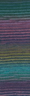 Mille Colori Socks & Lace Luxe - GROßE AUSWAHL! - Muticolor Sockengarn & Lacegarn mit Glitzer Vintage Pastell  #0151