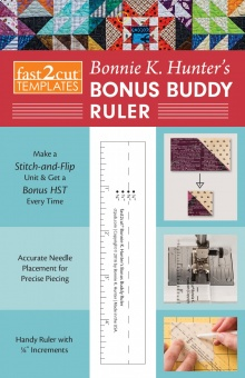 Bonnie K. Hunter's Bonus Buddy Ruler - Lineal