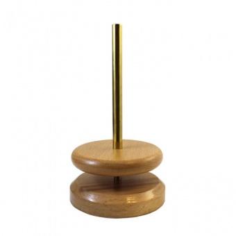Drehständer für Bobbel & Wollknäuel aus Holz - Rotierender Wollknäuelhalter 360° Grad - Scheepjes / Opry