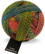 Crazy Zauberball Sockengarn mit Farbverlauf - Schoppel Sockenwolle Papagei