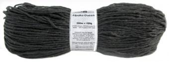 Alpaka Queen - Schoppel Wolle Schwarz 880