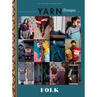 Scheepjes YARN Nr.6 Book-A-Zine - Strickzeitschrift / Häkelmagazin