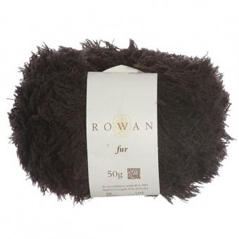 Rowan Fur Schwarz Farbe  00093