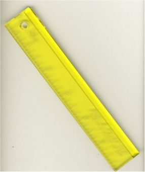 "6"" Add-A-Quarter Ruler Nahtzugabenlineal"