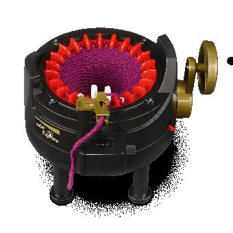 AddiExpress Strickmaschine / Strickautomat / Strickmühle mit 22 Nadeln