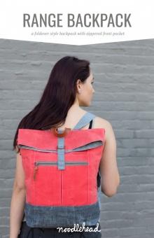 Range Backpack Taschenschnittmuster - Noodlehead by Anna Graham - VORBESTELLUNG AUGUST 2021