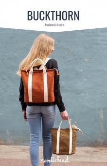 Buckthorn Backpack & Tote Taschenschnittmuster - Noodlehead by Anna Graham - VORBESTELLUNG AUGUST 2021
