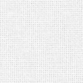 Zählstoff 14 ct /  54 pts - Stern-Aida - Weißer Stickstoff - 5,4 Stiche / Zentimeter