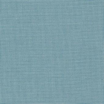 Türkisblau-Weiß Hahnentritt - Slate Yarn Dyes Patchworkstoffe - Studio Stash by Jennifer Sampou