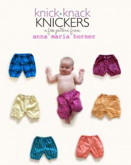 Knick Knack Knicker - Kinderbuxen von Anna Maria Horner - GRATIS DOWNLOAD