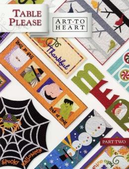 Art to Heart - Table Please Part 2 Two - Nancy Halvorsen