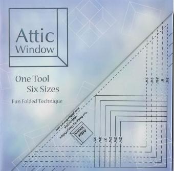 Attic Window Ruler - Patchworklineal