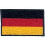 Deutschland-Flagge - Bügelapplikation Germany - Milward Flag Collection