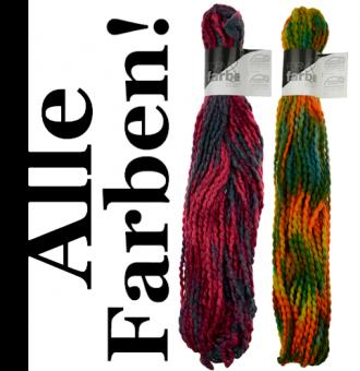 Form & Farbe - Handgefärbtes Strickgarn - Atelier Zitron Grobstrickgarn - ALLE FARBEN!
