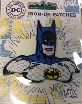 Batman Kopf DC Comics Originals - Bügelapplikationen Superhelden