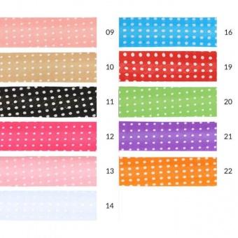 Baumwollschrägbänder mit Pünktchen - Oaki Doaki Schrägband