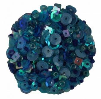 Blues Mix Perlen- und Paillettenset 28 Lilac Lane