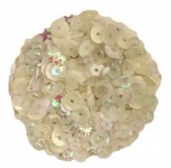 Winter Whites Perlen- und Paillettenset 28 Lilac Lane