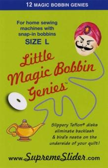 Gleithilfen für Unterspulen L-Style - Little Genie Magic Bobbin Washer
