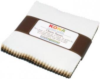 Charm Square Paket Neutrals Palette - Kona Cotton Solids