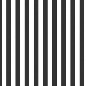"""1/2"""" Half Inch Stripes Black & White - Schwarz-Weißer Streifenstoff - Riley Blake Basicstoffe Meterware"""