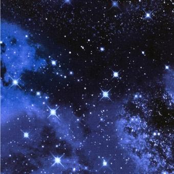 Galaxy Solar System - Universum Weltall Astronautenstoff mit Sternen & Sternchen