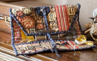 Anleitung - Trifold Craft Tote - Tim Holtz Eclectic Elements - GRATIS DOWNLOAD
