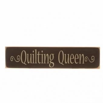 Quilting Queen Schild