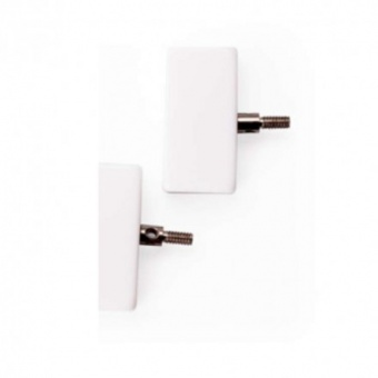 Seilverbinder - ChiaoGoo Cable Connectors zum Verbinden von Nadelseilen - Mini / Small / Large Small / Weiß