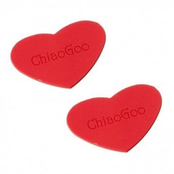Nadelgripper Herzchen - ChiaoGoo Herz-Gripper