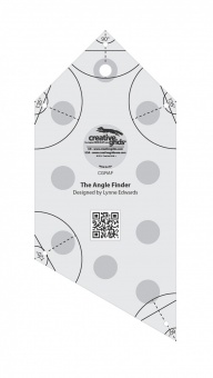 Winkelfinder & Binding Patchworklineal - Creative Grids Angle Finder Quilt Ruler and Binding Tool