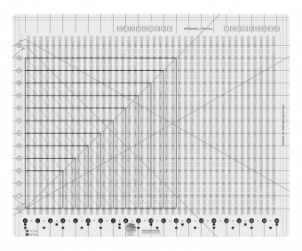 XL Streifen Patchworklineal - Stripology Ruler XL - Creative Grids Non Slip Ruler
