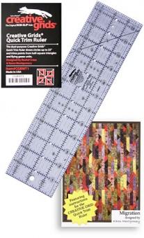 Quick Trim Ruler - Creative Grids / Karen Montgomery & Rachel Cross