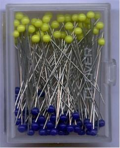 Patchwork Stecknadeln mit Glaskopf - Patchwork Pins Clover
