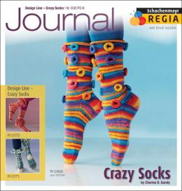 REGIA Journal - Design Line Crazy Socks Nr. 008