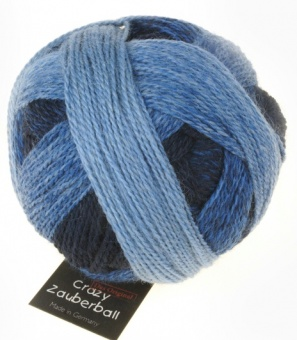 Crazy Zauberball Sockengarn mit Farbverlauf - Schoppel Sockenwolle Stone Washed