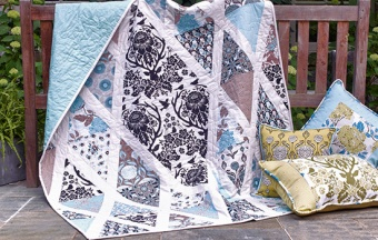 Birch Farm Diamond Damask Quilt by Joel Dewberry - Quilt Anleitung - GRATIS DOWNLOAD